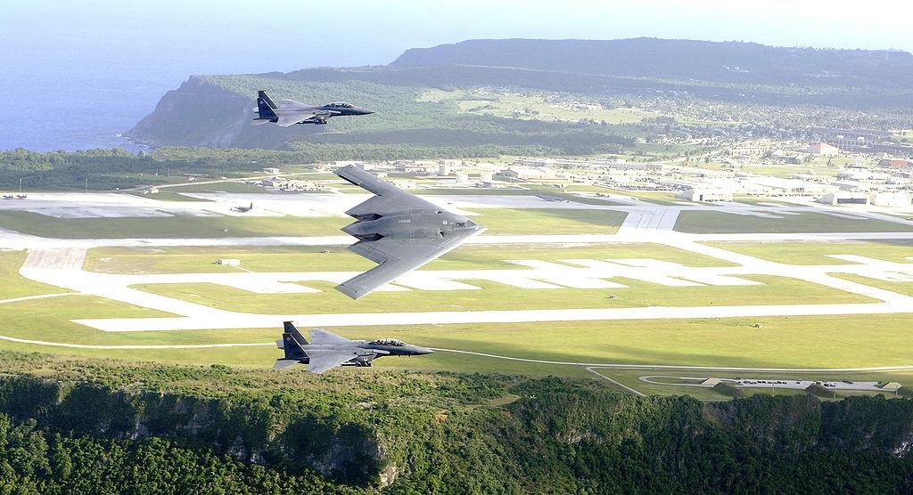第二次世界大戰後,安德森基地的主要作用是作為戰略空軍司令部基地,支持在南韓和越南的任務。(維基百科公有領域)