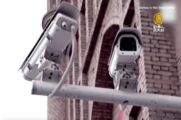 主席謝安達(Adam Schiff)以發生在新疆的人權迫害為例,指出由華為開發的全方位監控系統「平安城市」,其技術已至少被輸出到46個國家。(授權影片截圖)