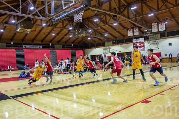 硅谷华人篮球协会总冠军赛 时隔两年 NK再夺魁