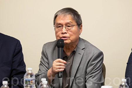 蘇曉康表示,屠殺發生的根本原因是中共內鬥。(林樂予/大紀元)