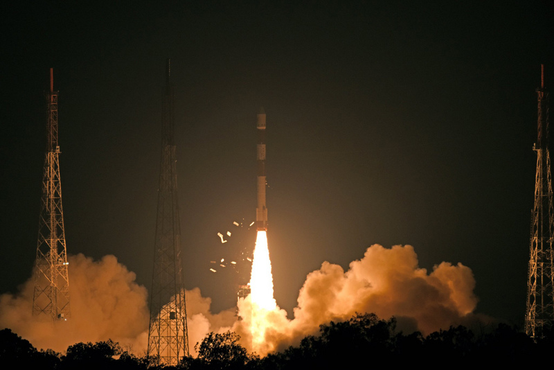 印度發射可軍事監控衛星 多雲天氣也能運作