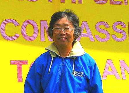 退休女教授夏瑰琦。(明慧網資料圖片)