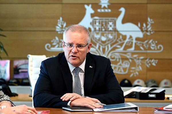 澳洲總理莫里森資料照。