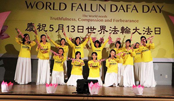 新世紀影視基地的歌舞表演 《梅》(明慧網)
