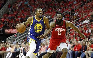 NBA西部半決賽 火箭主場加時險勝勇士