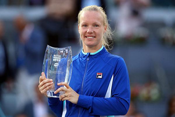 馬德里女網賽:貝爾騰斯創荷蘭網球歷史