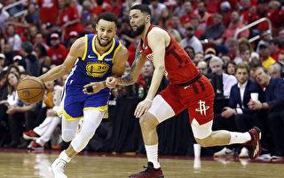 NBA西部半決賽:金州勇士4比2淘汰火箭