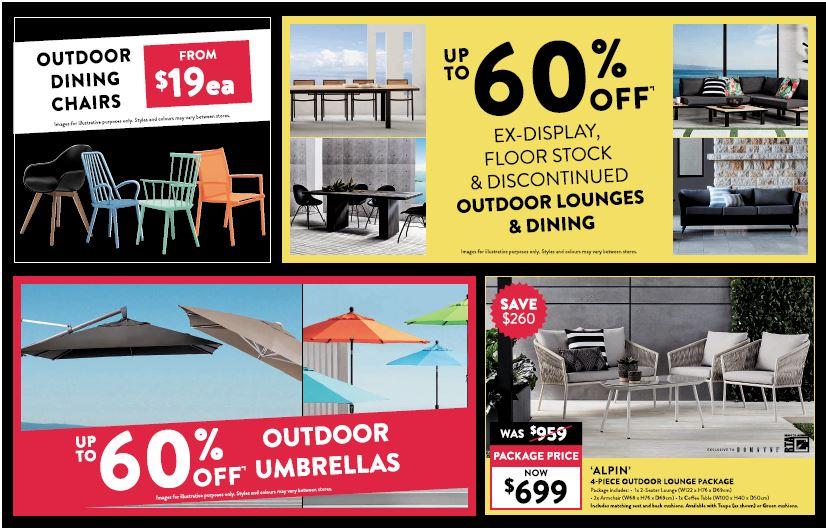 Domayne家具60% off促銷 售完為止