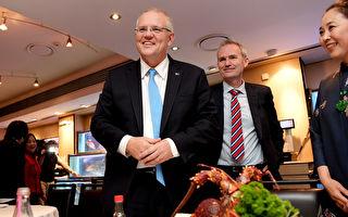 總理莫里森現身悉尼唐人街 爭取華裔選票