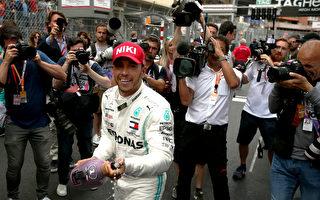 F1摩纳哥站:梅赛德斯车手汉密尔顿夺冠