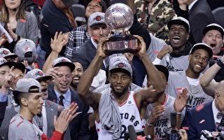 猛龙队首进NBA总决赛 多伦多球迷沸腾