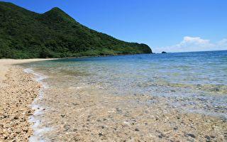 净白细沙、蔚蓝海水 冲绳跳岛美景