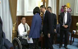 总统接见!六四亲历者感谢挺大陆民主人权