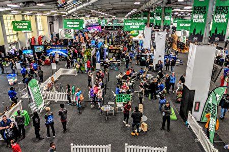 紐約自行車休閒展5月3日至4日於紐約市Pier 36 Basketball City盛大登場。