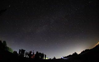阿里山夏季璀璨銀河登場
