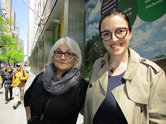 來自巴西的遊客Gabriela Feriera(李辰/大紀元)