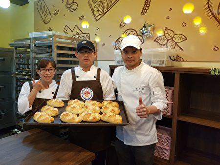 明新科大@house实习烘焙坊开幕,提供学生烘焙制作与经营教学场所