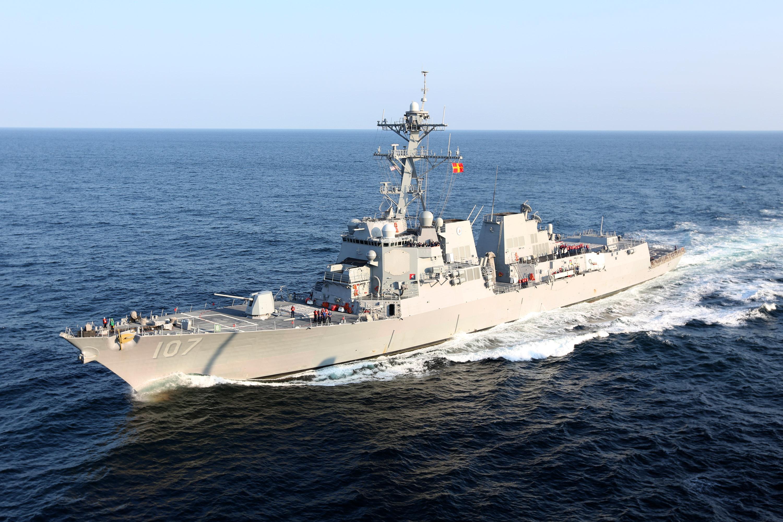 美軍艦再穿越台海 拆穿「南海無美艦」謊言