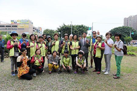 新竹市食物森林示范地教学青草变身植物养乐多