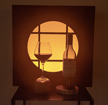 美麗的OLED系列藝術作品之一。
