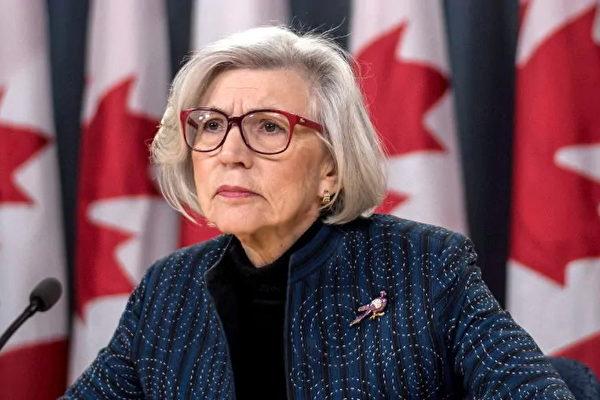 加拿大高院退休法官麥洛蓮(Beverley McLachlin),今年3月被聘用,以獨立調查卑詩省高管濫用公款醜聞事件。(加通社)