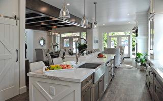 6種最受歡迎的廚房台面材料大盤點