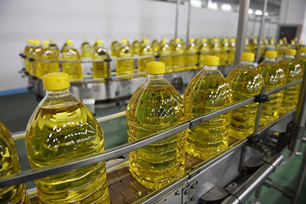 大陸食用油價格上漲 豆油半年漲50%
