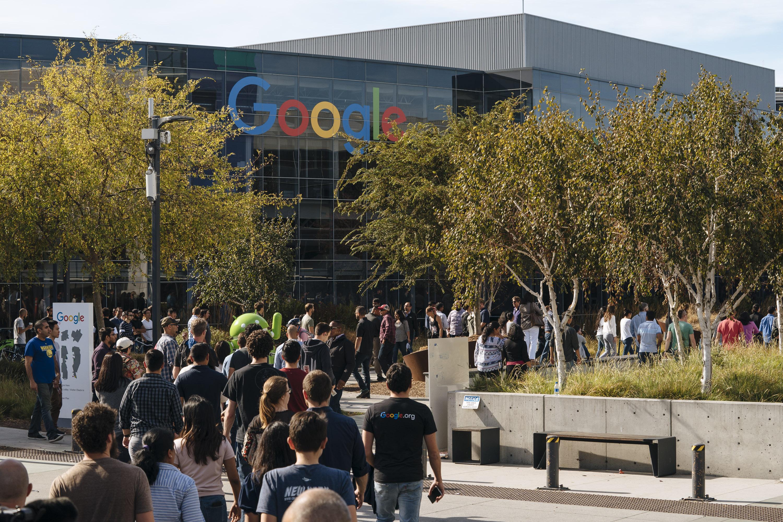 參加罷工後遭報復 谷歌員工再次抗議