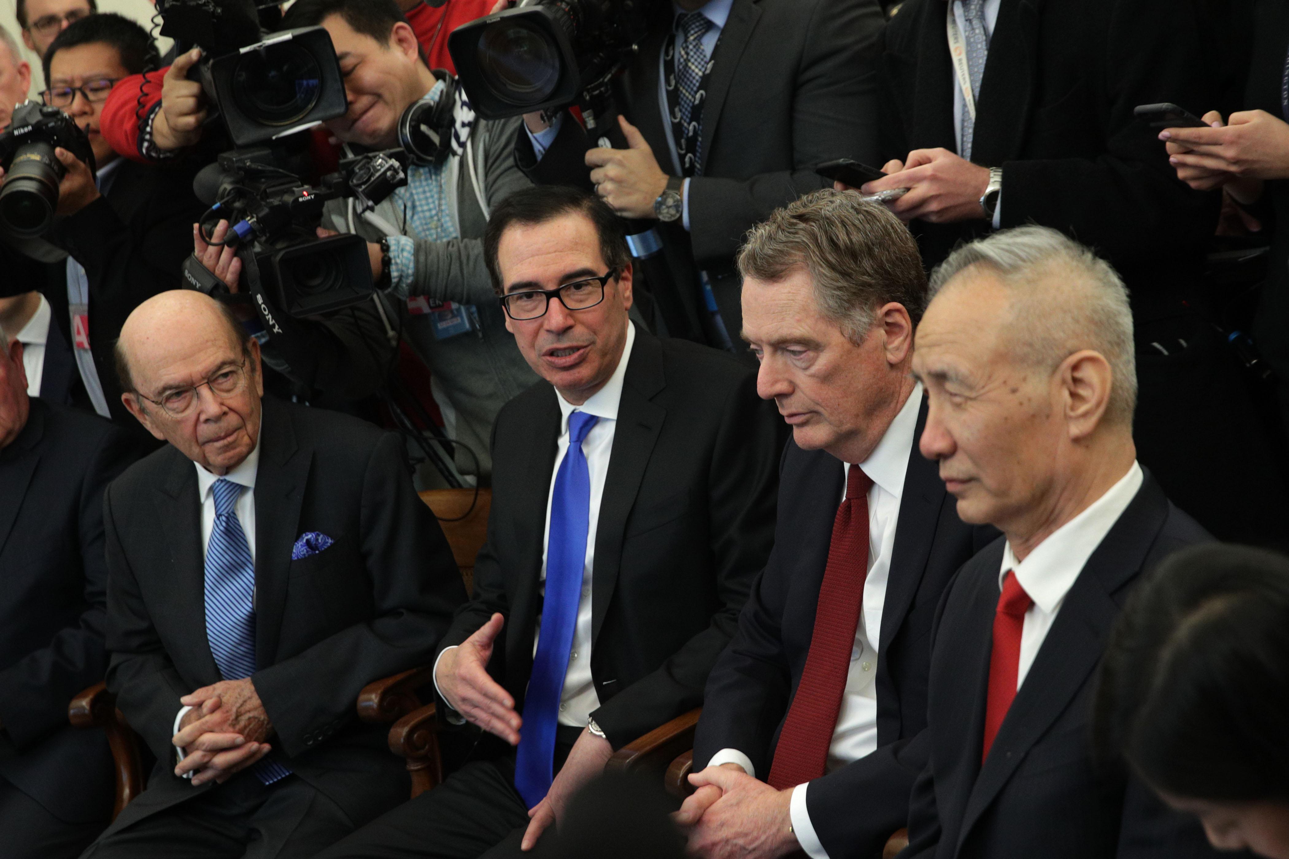 中美貿易戰加劇 本週談判三種可能結果