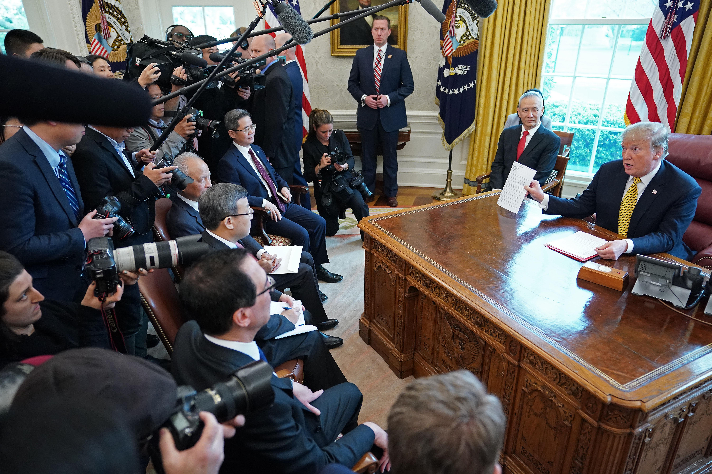 特朗普決定加稅 中共被震暈 現五種異常反應