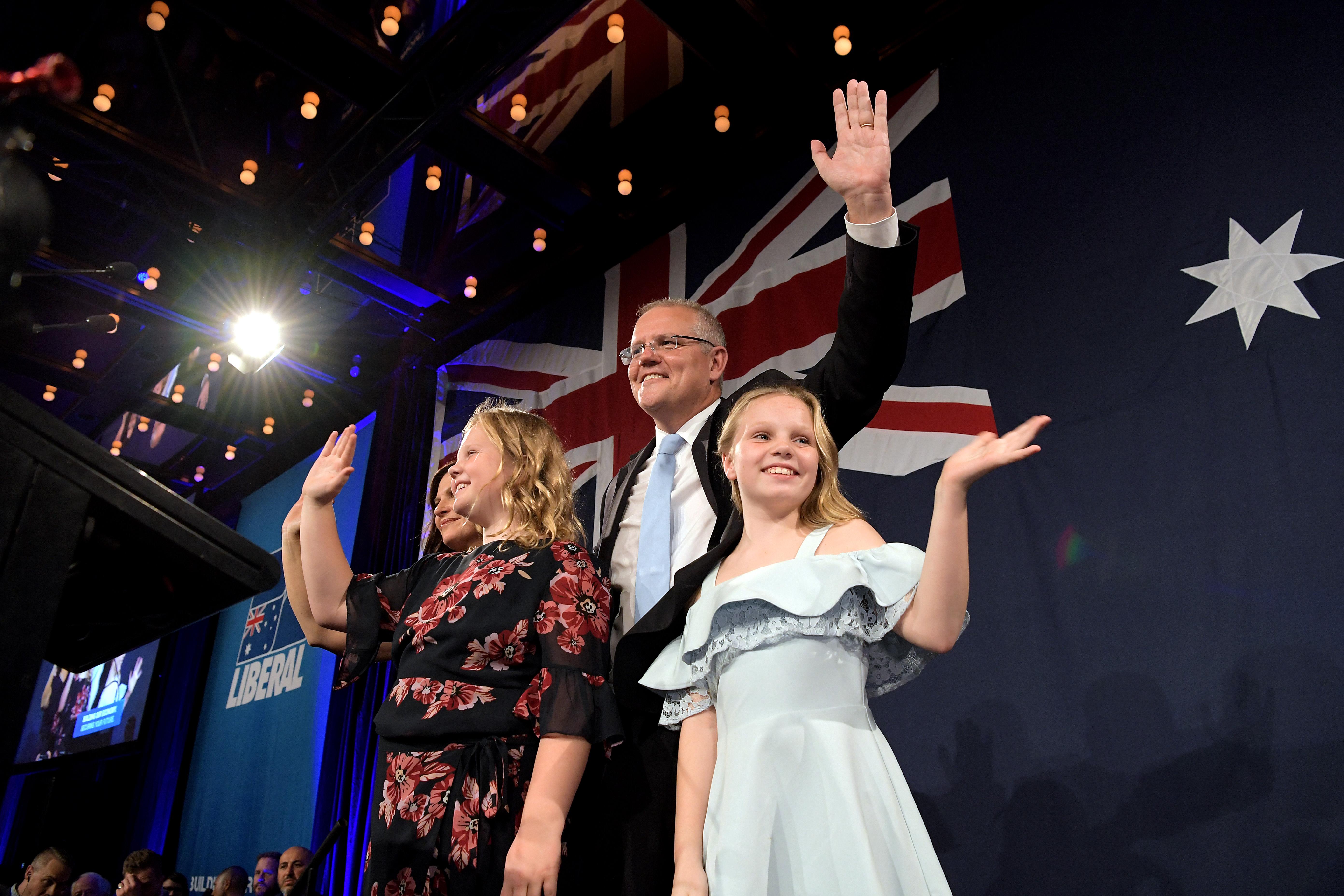 澳州大選聯盟黨意外連任 三項政策助力