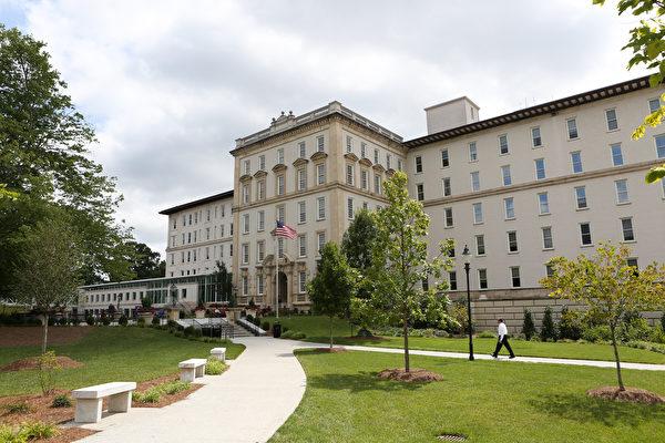 圖為埃默裏大學(Emory University)醫院。(Photo by Jessica McGowan/Getty Images)