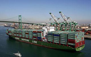 美国对中国贸易逆差降至五年来新低