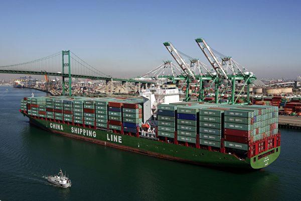 美國對中國貿易逆差降至五年來新低