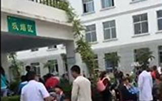 甘肃一冶炼厂二氧化硫泄漏 百余村民住院