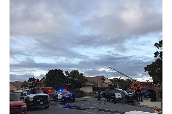 圣地亚哥民宅大火三伤 屋内种植大麻
