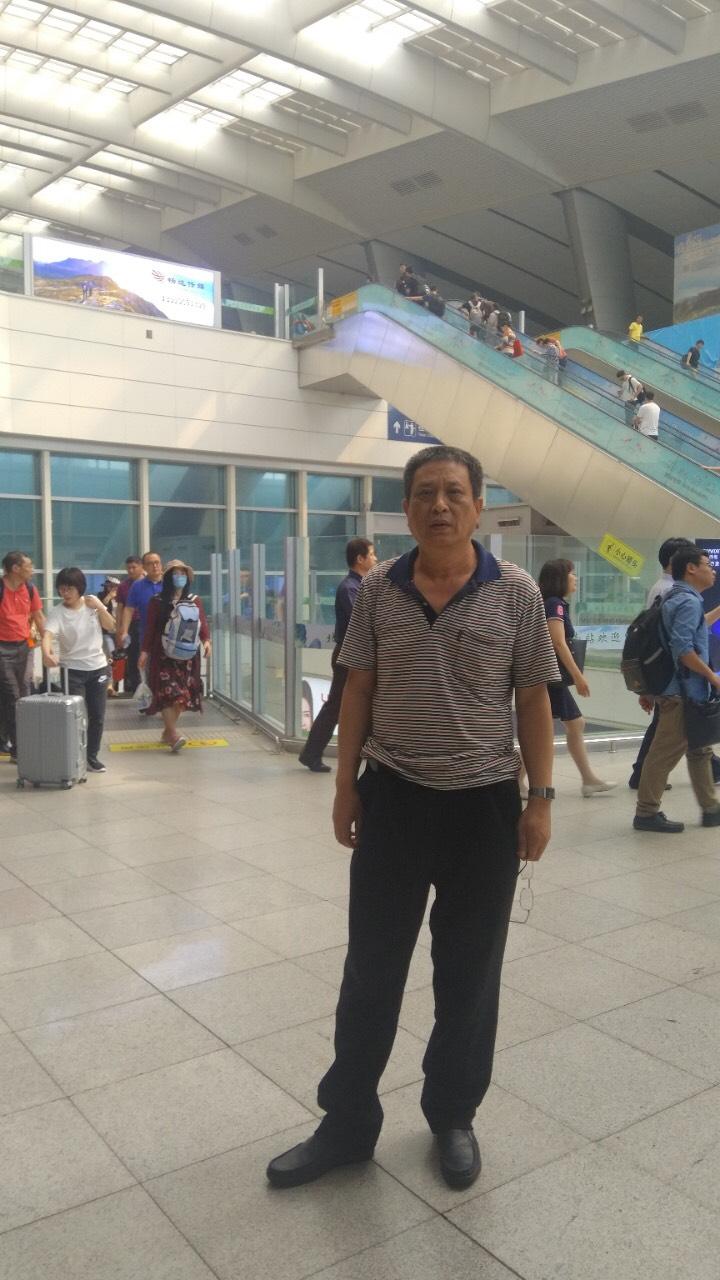 顧國平進京後再次被截回上海關黑監獄。(受訪者提供)