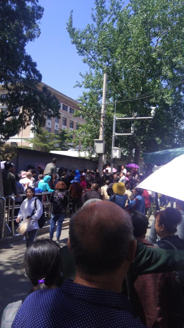 北京國家信訪局前。(受訪者提供)