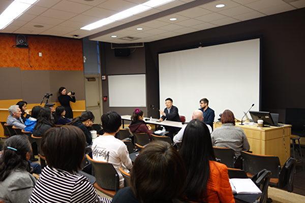 華盛頓大學放映《求救信》 觀眾感動