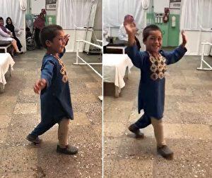 阿富汗男孩「與義肢共舞」 笑容感染全球網友
