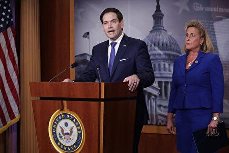 美國共和黨聯邦參議員魯比奧(Marco Rubio)4月30日在華府發表演說,全面抨擊中共的政策。圖為資料照。(Chip Somodevilla/Getty Images)