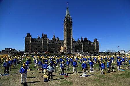 加拿大政要:为法轮功争取自由炼功权利