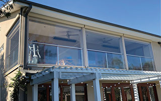 全天候Ziptrak百葉窗 在寒冷的天氣享受春天的暖意
