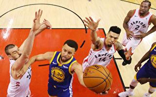 NBA总冠军赛首场 勇士客场负猛龙