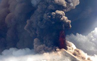 具高风险的乌拉文火山喷发 巴新5000人急撤