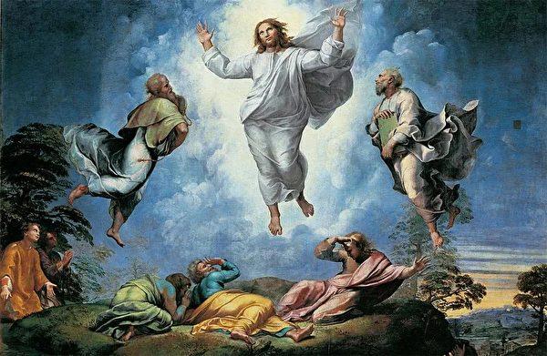 基督徒告訴人們,人死並不會真的消失,還會復生,真誠改悔的人還會升入天堂。圖為拉斐爾最後的作品〈耶穌顯聖容〉(The Transfiguration)。(公有領域)