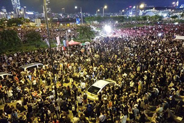 張林:香港人絕地反擊