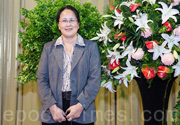 《大紀元》媒體集團副總編輯、香港《大紀元》分社社長郭君女士。(陳柏州/大紀元)