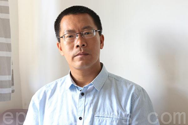 大陸維權律師、哈佛大學訪問學者滕彪。(余鋼/大紀元)