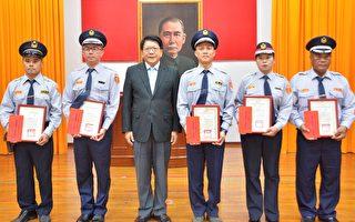 慶祝警察節 潘孟安表揚有功員警及協勤民力
